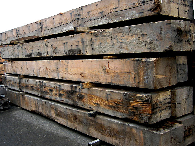 recycled timber beams