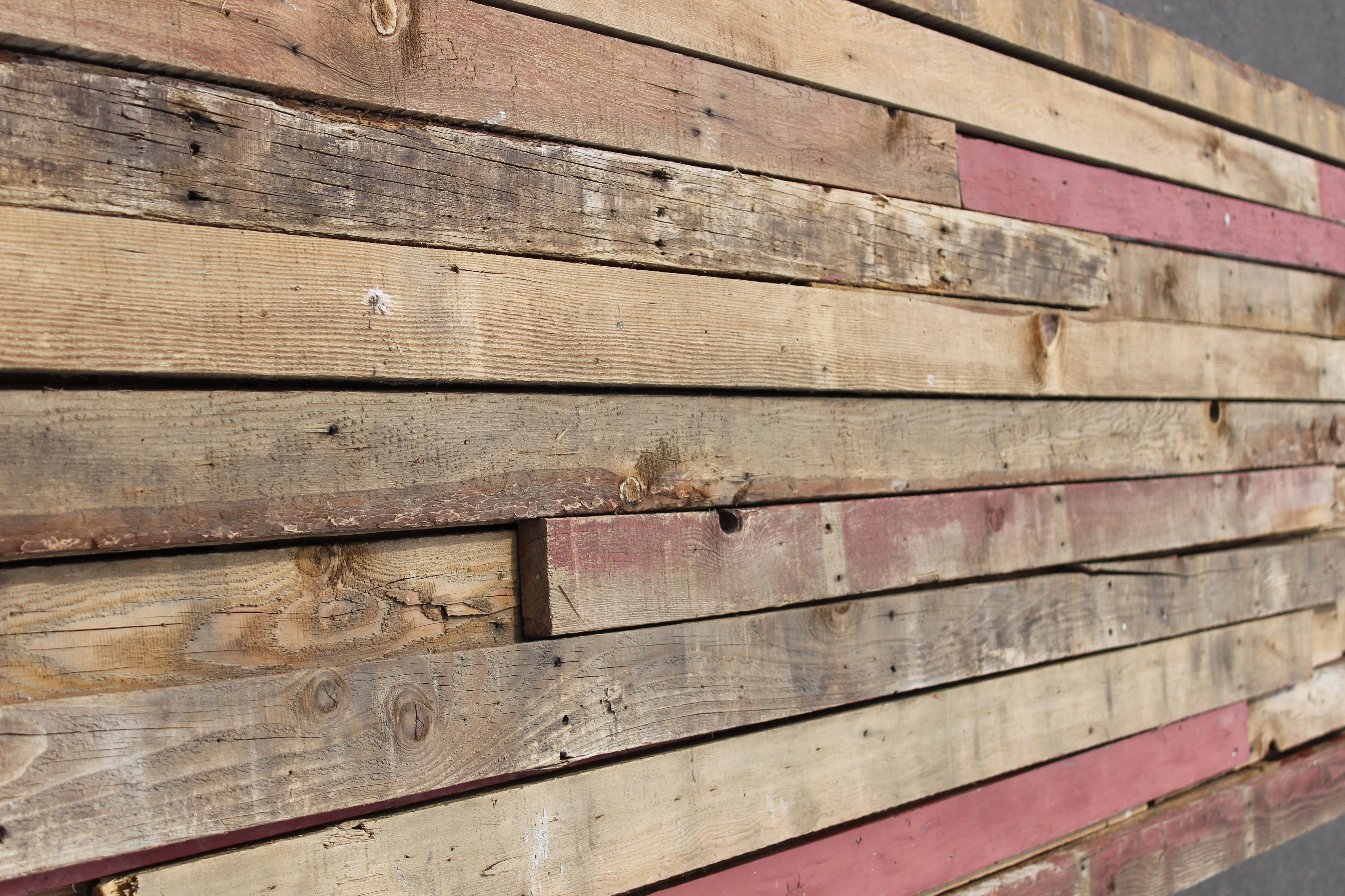 Reclaimed product list for Recycled wood siding