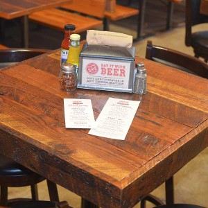 Grain Station Brew Works Table