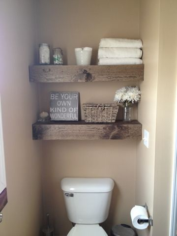 bathroom-reclaimed-timber-shelves