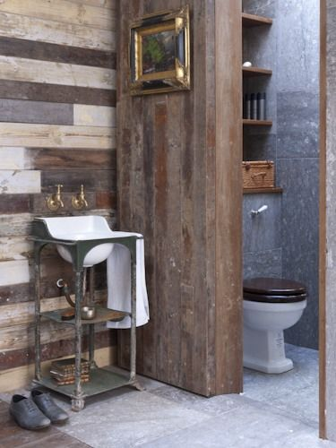 re new how to remodel a bathroom with reclaimed wood